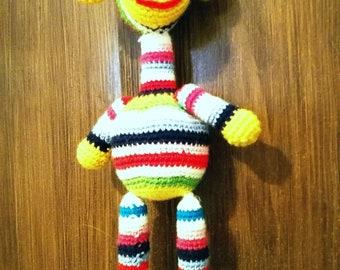 Plush Amigurumi crocheted Giraffe/Giraffe Handmade