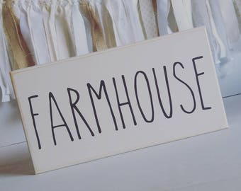 Ready to Ship, Rae Dunn Inspired Signs, Rae Dunn Style, Word Signs, Farmhouse Decor, Wood Signs, Accent Sign, Farmhouse, Coffee, Blessed
