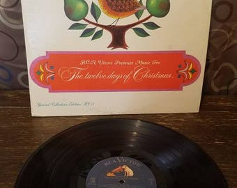 Twelve Days of Christmas   Vinyl Records LP  RCA Victor  Record 1965