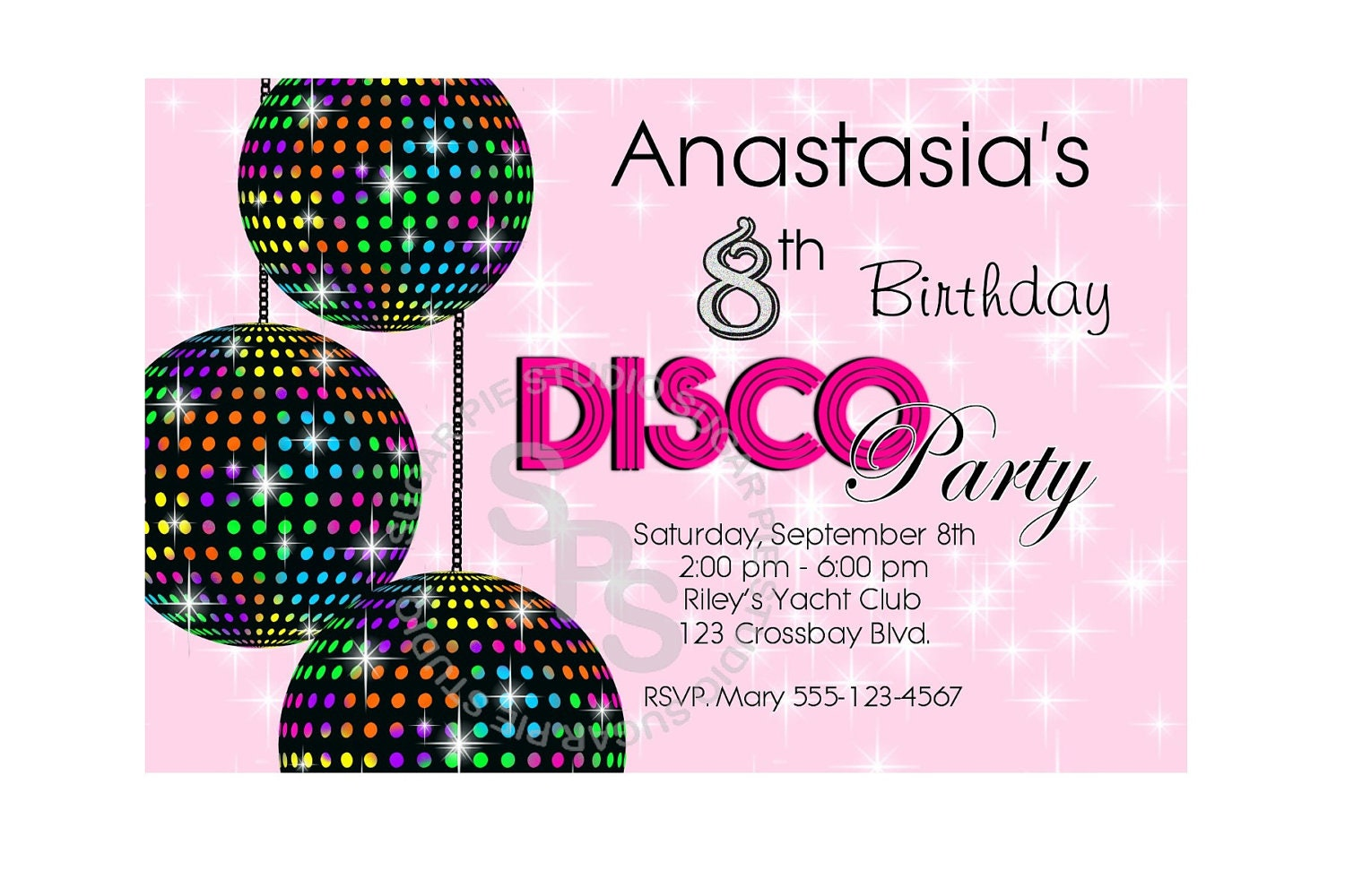 kids dance party invitations - Etame.mibawa.co