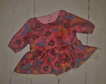 "Fall Floral ""Pepper"" Dress"
