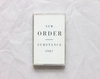 New Order   Substance cassette (1987)