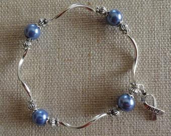 091  Esophageal/Prostate/Stomach Cancer Awareness Bracelet