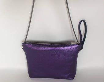 Leather handbag/ Cross Body Bag/ Women Bag/ Leather Purse / Multiple Colors