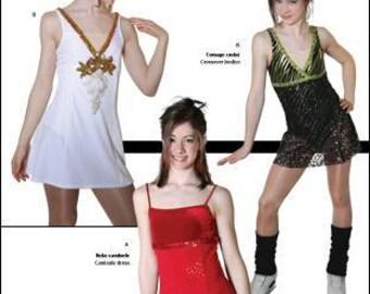 Jalie 2674 - Empire Waist Crossover Dress / 22 Sizes / Child & Adult