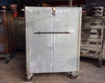 Industrial Cabinet on Casters               ***Local Pickup Only***