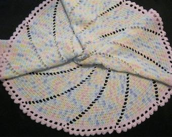Baby Blanket - Multi Pinwheel