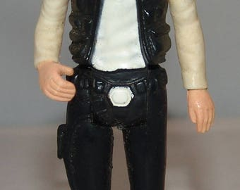 Star Wars GMFGI 1977 Hans Solo Action Figure Vtg Toy Kenner