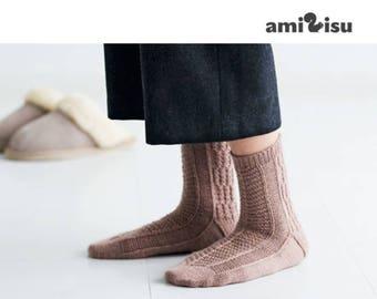 Fort Grey Socks - PDF Knitting Pattern