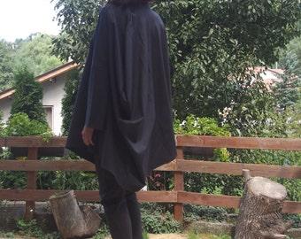 Plus size Clothing / Asymmetric Kaftan / Loose Long Sleeves Tunic / Extravagant Maxi Top & Nara DT019