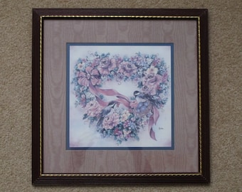 vintage home interiors and gifts homco chickadee and flowers