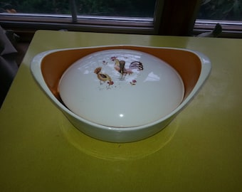 Vintage Taylor Smith Taylor Break O' Day Chicken Casserole Dish