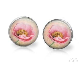 Ear studs of pastellener cherry blossom 10