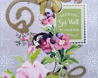 Sending Get Well Wishes 2018 Card Handmade