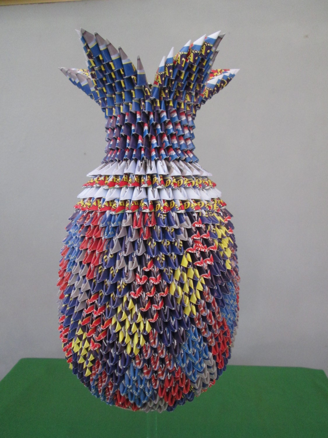 3d origami pineapple vase v1400 2000 usd zoom reviewsmspy