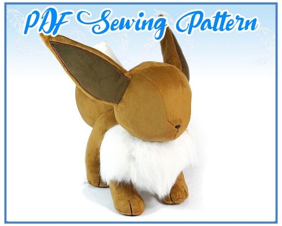 Lifesize Eevee Plush PDF Sewing Pattern advanced