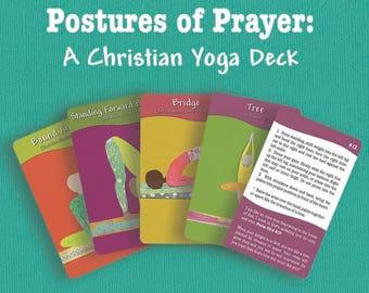 Postures of Prayer: a Christian yoga deck