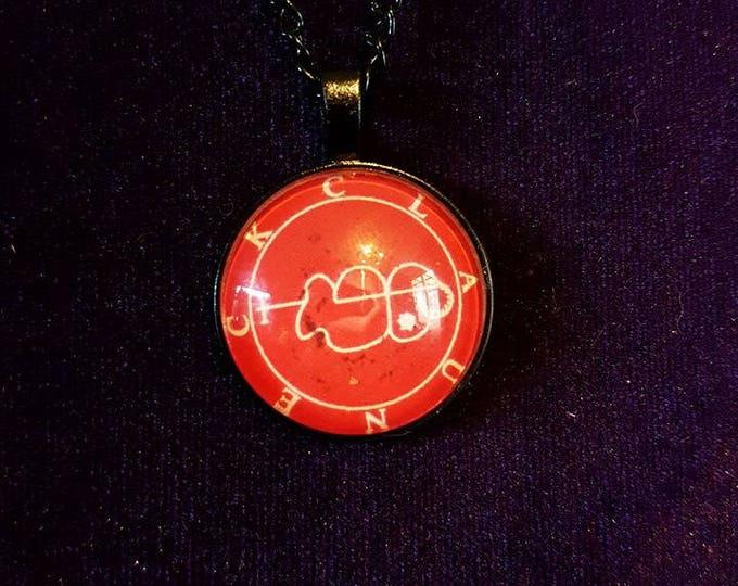 Sigil of Clauneck - occult demon wealth money riches solomon lucifer goth syrach left hand path magick