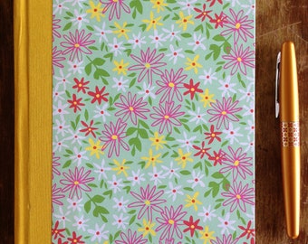 Blank Book, large - Daisy (128 pages) Sketchbook, Journal, Garden Journal, Travel Diary, Mother's Day