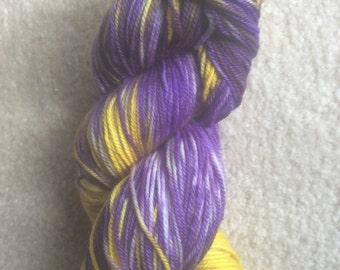 Iris Fields - Hand Dyed Merino/Cashmere/Nylon Yarn Sock Weight