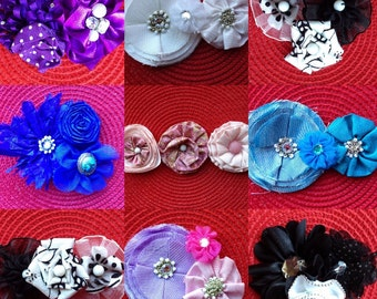 Three Flower Headband
