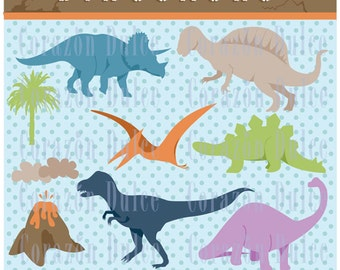 INSTANT DOWNLOAD Dinosaurs - Personal and Commercial Use-