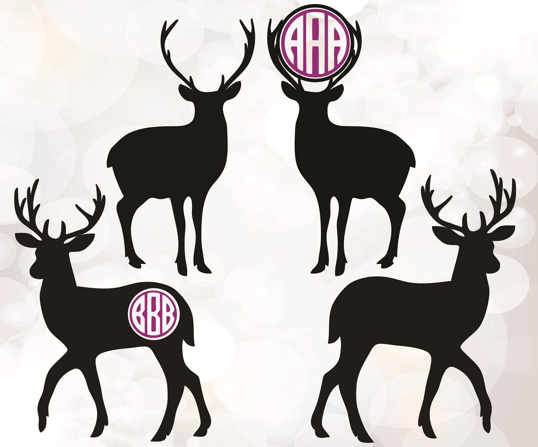 Download Deer SVG Deer Clipart Christmas svg Cricut downloads