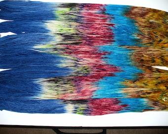 Hand Dyed Superwash Merino Wool Yarn for Knitting or Crochet