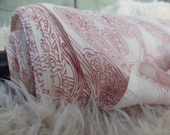 Cotton Paisley Fabric by the Yard, Cotton by the Yard, Fabric Yardage