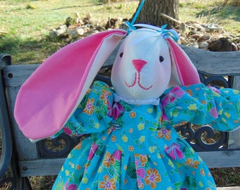 Tana the Stuffed Bunny Rabbit Doll