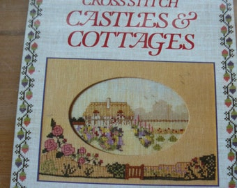 Castles and Cottages Cross Stitch Pattern Book, Craft, Jane Greenoff