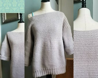Comfy Sweater- can be custom made in any color to fit you