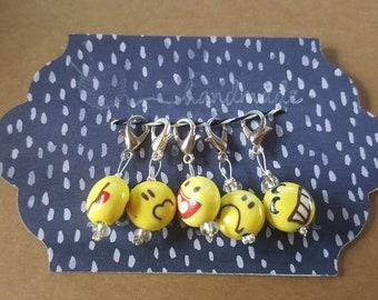 Emoji Stitch Markers