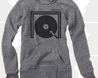 Listen Round - Women Sweatshirt