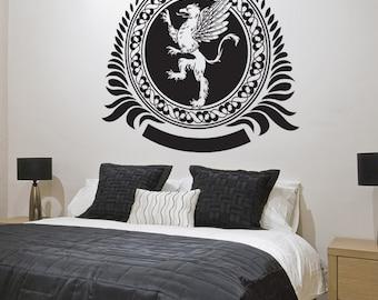 Vinyl Wall Decal Sticker Griffin Creature Design 1248s