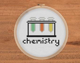 Tiny Chemistry Stitch Pattern