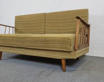 Sofa DAYBED couch sofa bed mid century modern Danish Scandinavian vintage retro 50s 60s 50s 60s Scandinavian