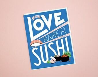Rare Love Card
