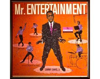 Glittered Sammy Davis Jr Mr Entertainment Album