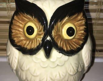 Vintage Owl Piggy Bank