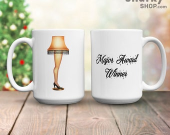 A Christmas Story Major Award Winner Leg Lamp, 15oz Mug