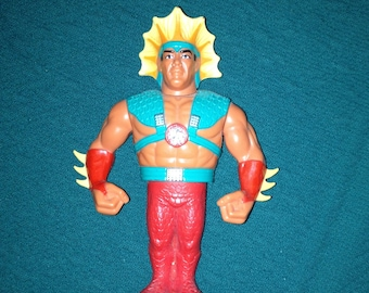 "Vintage Ricky The Dragon Steamboat Wrestling Figure Titan Sports Hasbro WWE WWF 5"" Figure The Hart Foundation"