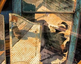 Reflections in a Shop Window Fine Art Photo