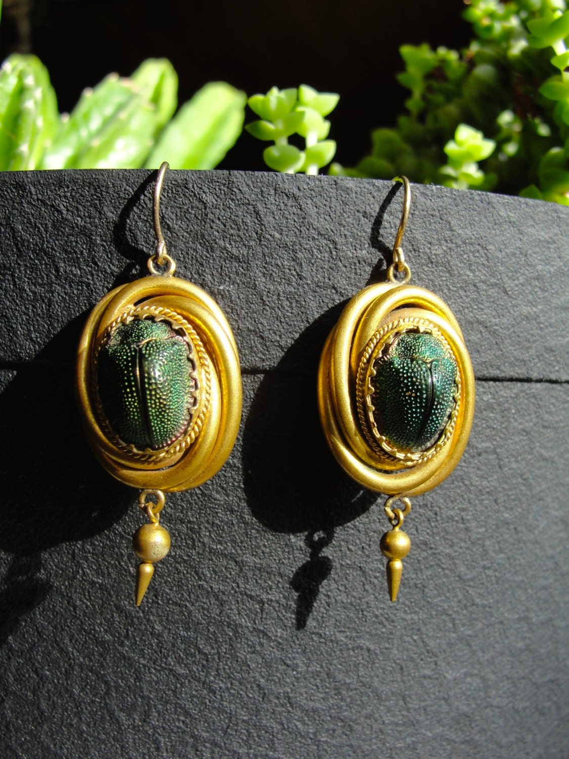 victorian yellow leaf enameled product gold earrings antique maple jewelers in black filigree