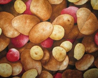 Potatoe Red Potatoes Spuds Cotton Fabric Fat Quarter or Custom Listing