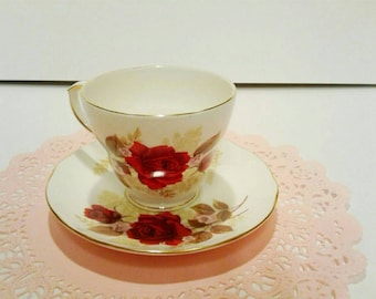 Duchess 40th Anniversary Cup and Saucer