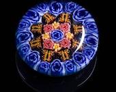 Artisan Blue Rose with Bu...