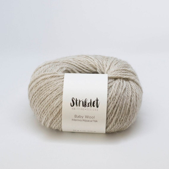 STRIKDET Baby Wool - light beige