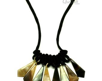 Horn String Necklace - Q13110