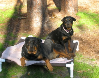 Dog Beds, Large Dog Cots, Medium Dog Beds, Choose Top Gun Marine Boat Canvas Cot OR Phifertex Pet Screen Mesh 28x40 Dogs Up To 130 Pounds.